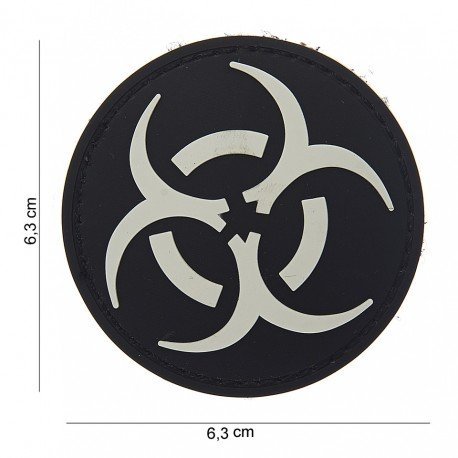 101 INC Patch 3D PVC Resident Evil Blanc & Noir AC-WP4441503720 Patch en PVC