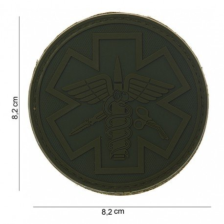 101 INC Patch 3D PVC Para Medic OD (101 Inc) AC-WP4441503725 Patch en PVC