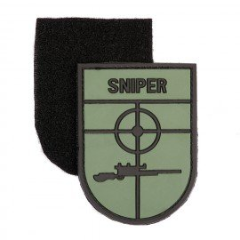 3D PVC patch Sniper OD / Black
