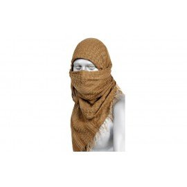 Keffieh / Cheche / Coyote Scarf & Brown