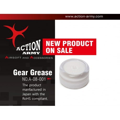 Action Army Action Army Graisse Gear AC-AAA08001 Pièces Upgrades Sniper