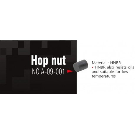 Action Army Action Army Hop Up Nut AC-AAA09001 Pieces Internes