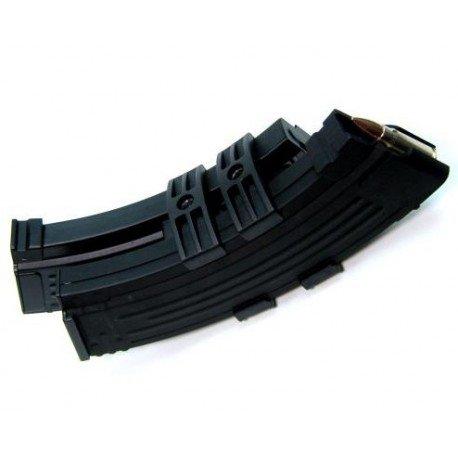 WE Dble Chargeur AK47 auto de 1200 Billes (Battleaxe) AC-NADCHA47E Chargeurs