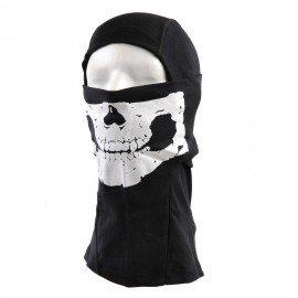 Capucha de elastán negro fantasma (101 inc.)