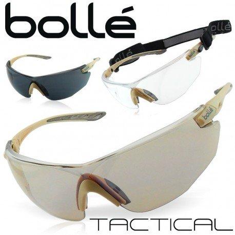 BOLLE Lunettes Kit Combat w/ 3 Verres Desert (Bollé) AC-BOCB603855 Equipements