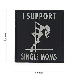 101 INC Patch 3D PVC I support Single Moms (101 Inc) AC-WP4441003531 Patch en PVC