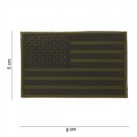 PVC Patch 3D USA OD (101 Inc)