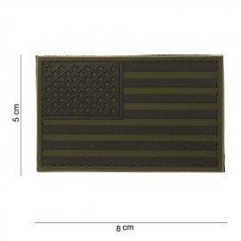 PVC Patch 3D USA OD (101 Inc)
