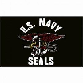 Bandera de los EEUU Navy Seals 150x100 cm.