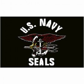 Bandiera USA Seals Navy 150x100 cm