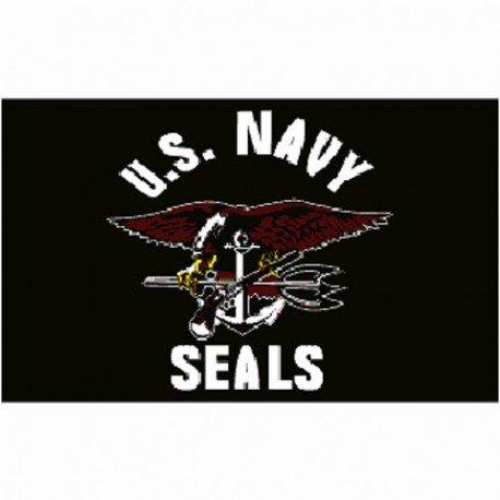 101 INC Drapeau US Navy Seals 150x100 cm AC-WP447200135 Drapeau