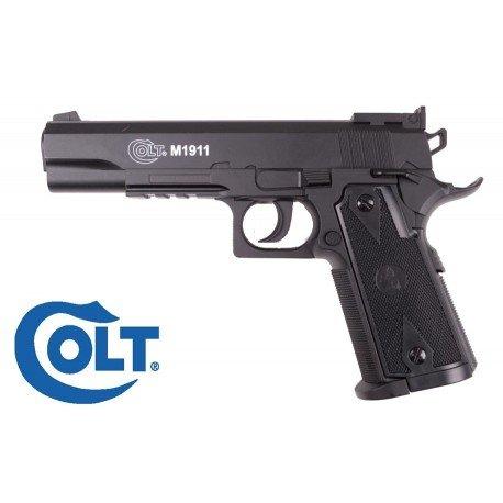 replique-Colt 1911 Culasse Fixe Co2 (Swiss Arms 180306) -airsoft-RE-CB180306