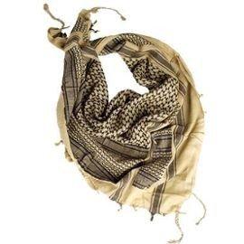 101 INC Keffieh / Cheche / Desert & Black Scarf HA-WP217194 uniformes