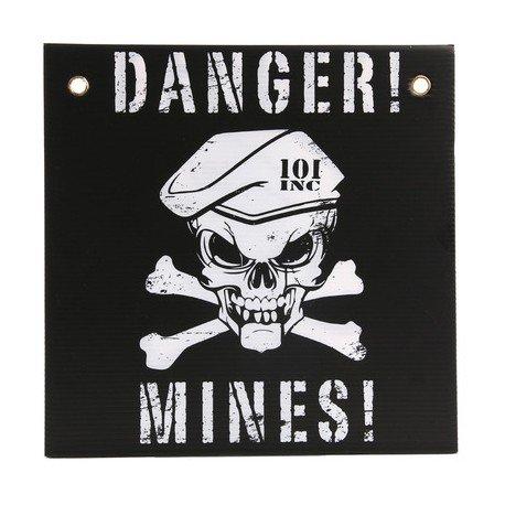101 INC Panneau Danger Mines Noir / Blanc (101 Inc) AC-WP415142BK Accessoires