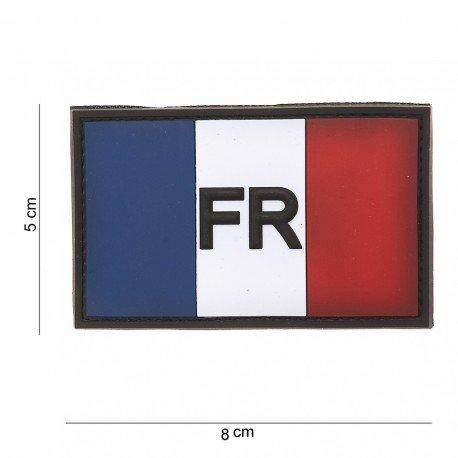 101 INC Patch 3D PVC France FR (101 Inc) AC-WP4441103515 Patch en PVC