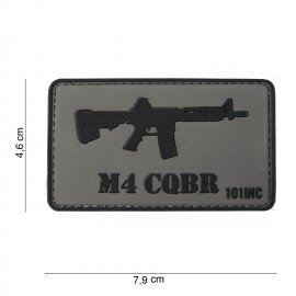 Patch in PVC 3D Colt M4 CQBR (101 Inc)