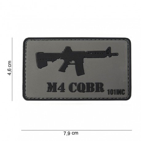 101 INC Patch 3D PVC Colt M4 CQBR (101 Inc) AC-WP4441303753 Patch en PVC