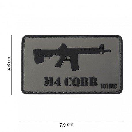 101 INC Patch 3D PVC Colt M4 CQBR (101 Inc) AC-WP4441303753 Patch en PVC
