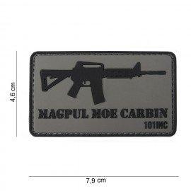 Parche de PVC 3D Magpul M4 MOE (101 Inc)