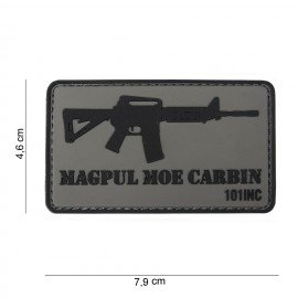 101 INC Patch 3D PVC Magpul M4 MOE (101 Inc) AC-WP4441303756 Patch en PVC