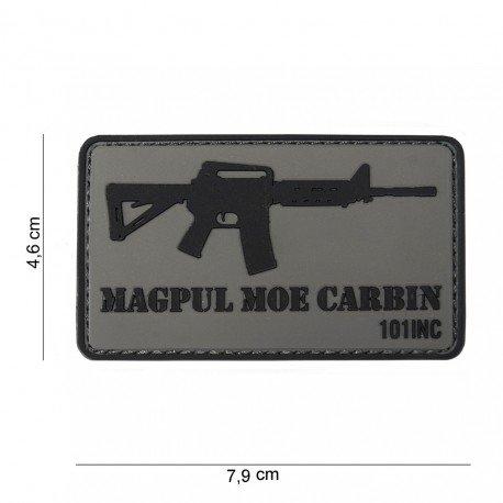 101 INC Patch 3D PVC Magpul M4 MOE (101 Inc) AC-WP4441303756 Patch en PVC