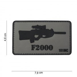 3D PVC Patch FN2000 (101 Inc)
