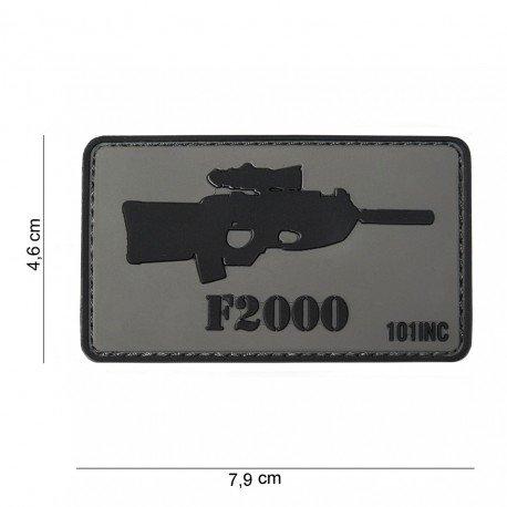 101 INC Patch 3D PVC FN2000 (101 Inc) AC-WP4441303757 Patch en PVC
