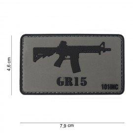 Parche 3D PVC GR15 (101 Inc)