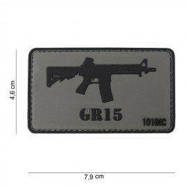 Patch 3D PVC GR15 (101 Inc)