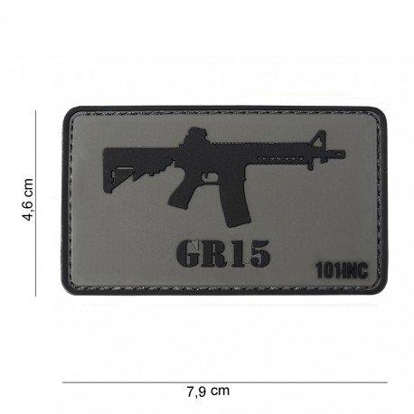 101 INC Patch 3D PVC GR15 (101 Inc) AC-WP4441303759 Patch en PVC