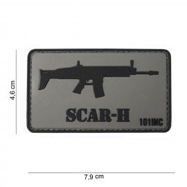 101 INC Patch 3D PVC Scar-H (101 Inc) AC-WP4441303760 Patch en PVC