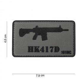 Parche 3D PVC HK417D (101 Inc)