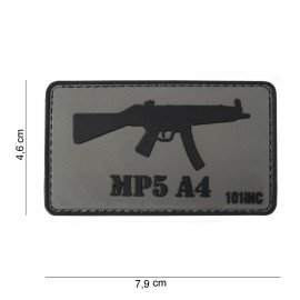 101 INC Patch 3D PVC MP5 A4 (101 Inc) AC-WP4441303764 Patch en PVC