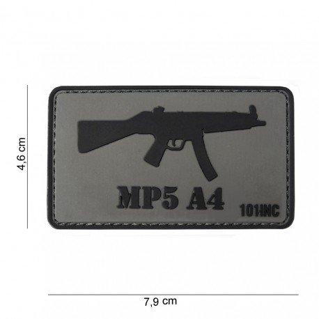 101 INC Patch 3D PVC MP5 A4 (101 Inc) AC-WP4441303764 Patch en PVC