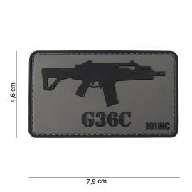 101 INC Patch 3D PVC G36C (101 Inc) AC-WP4441303765 Patch en PVC
