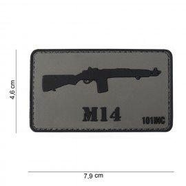 Parche 3D PVC M14 (101 Inc)