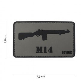 101 INC Patch 3D PVC M14 (101 Inc) AC-WP4441303767 Patch en PVC
