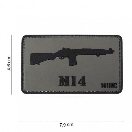 101 INC Patch 3D PVC M14 (101 Inc) AC-WP4441303767 Patch en PVC