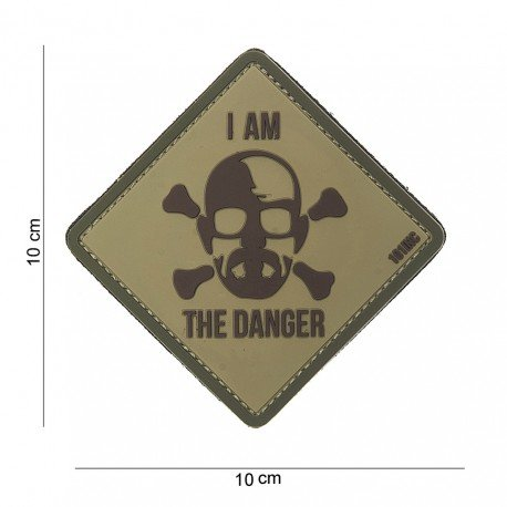 101 INC Patch 3D PVC I Am The Danger (101 Inc) AC-WP4441303832 Patch en PVC
