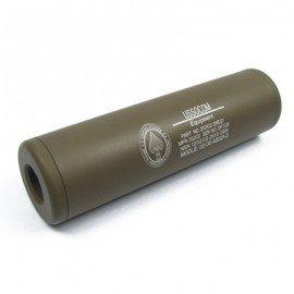 King Arms Silencieux LW 110mm US Socom Desert (King Arms) AC-KASIL0802DE Accessoires