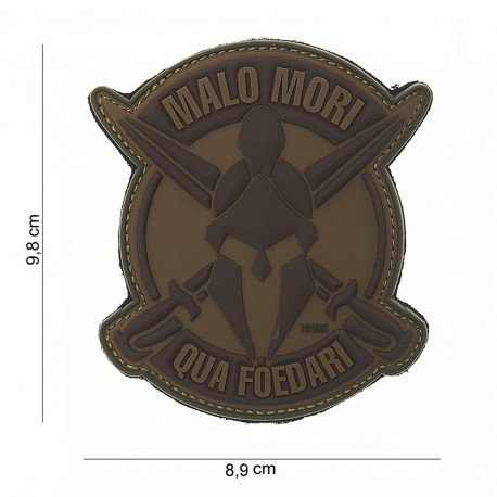 101 INC Patch 3D PVC Malo Mori Desert (101 Inc) AC-WP4441803825 Patch en PVC