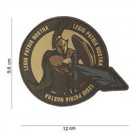 Patch in PVC 3D Legio Patria Nostra Desert (101 Inc)