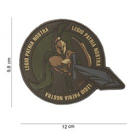 101 INC Patch 3D PVC Legio Patria Nostra (101 Inc) AC-WP4441803826 Patch en PVC