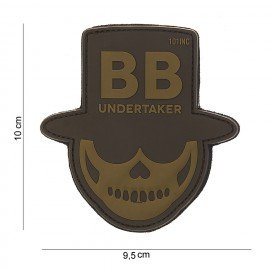 101 INC Patch 3D PVC Undertaker Desert (101 Inc) AC-WP4441803838 Patch en PVC