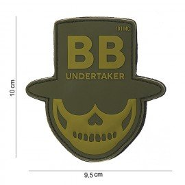 PVC 3D Patch Undertaker OD (101 Inc)