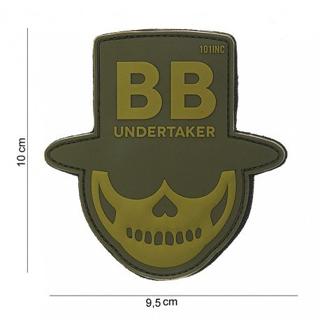 101 INC Patch 3D PVC Undertaker OD (101 Inc) AC-WP4441803839 Patch en PVC