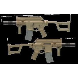 Ares Amoeba M4 CCR-S Desert (AM-005 DE) RE-ARAM005DE/AR00010 Répliques Autres Compact