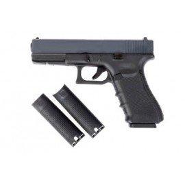 WE WE G17 Gen.4 Noir RE-WEGGB0354TMBB Pistolet à gaz - GBB