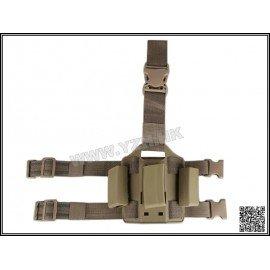 Emerson Thigh Plate Charger MP5 (x3) CQC Desert (Emerson) AC-EMBD2269A Soft Pouch
