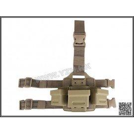 Plaque Cuisse CQC G36 Chargeur (x3) Desert (Emerson)